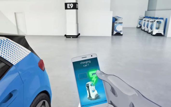 VW töltőrobot