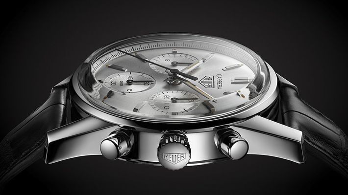 TAG Heuer Carrera 160 Years Silver