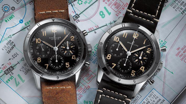 """A Breitling új AVI Ref. 765 Re-Edition egy hiteles újragondolása az 1953 Breitling pilóta órájának, mely a """"Co-Pilot"""" nevet kapta."""