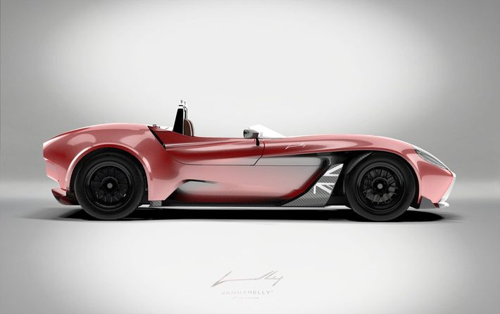 Jannarelly Design-1 UK Edition