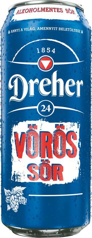 Dreher Vörös sör