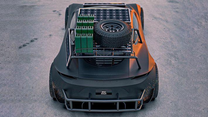 Tesla Roadster Safari