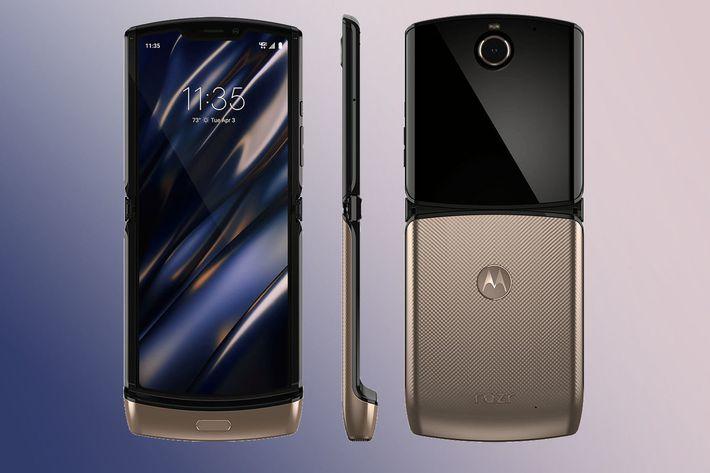 "Motorola ""Blush Gold"" Razr 2020"