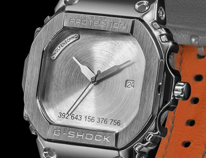 "Wolfensohn ""Swiss Shock"" Custom G-SHOCK Watches"