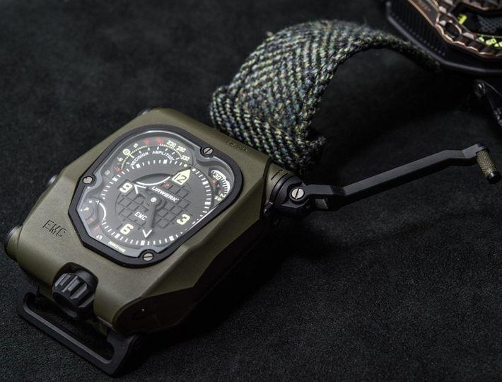 Urwerk EMC Time Hunter