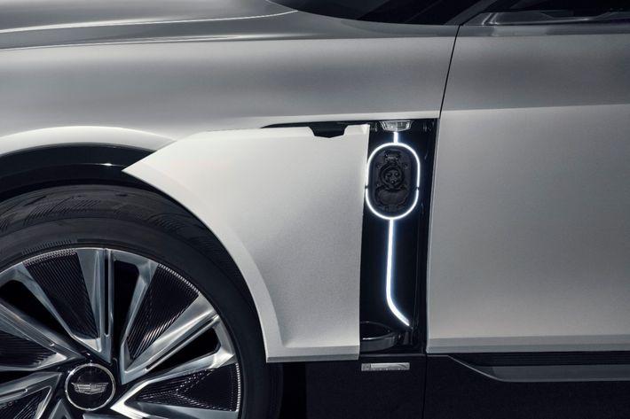 Lyriq – az első elektromos Cadillac