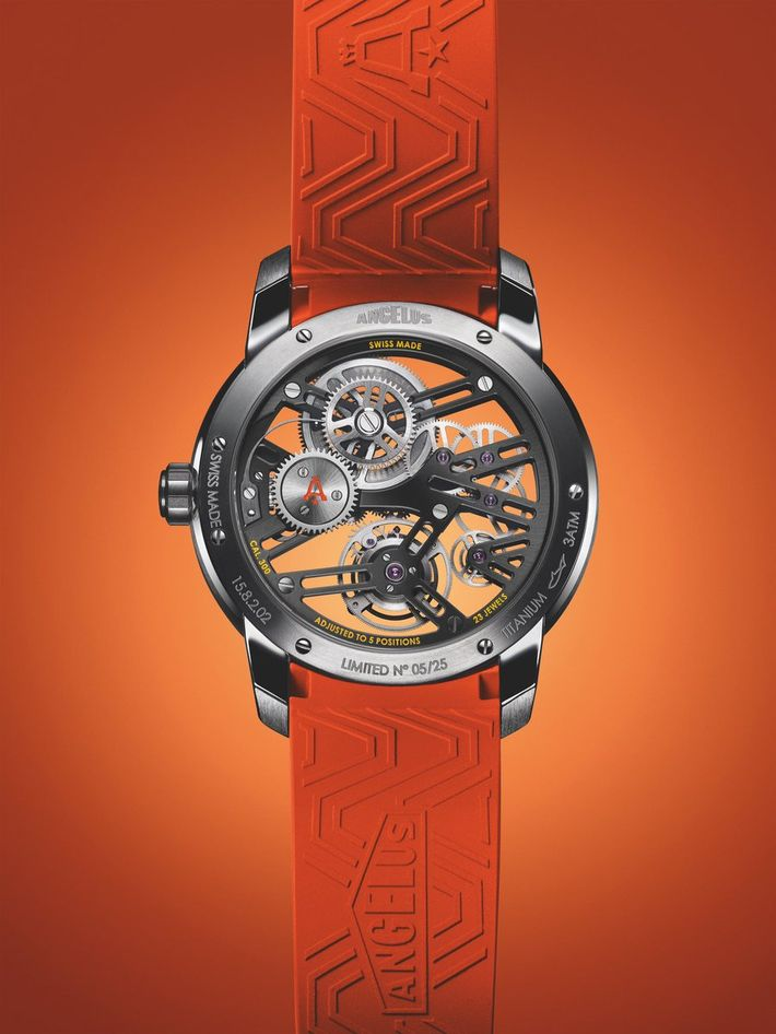 Angelus U41 Vibrant Structure Tourbillon