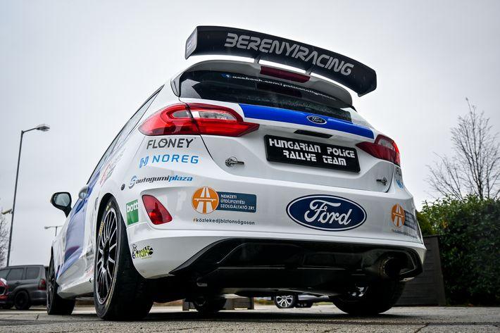 Ford és a Hungarian Police Rally Team a