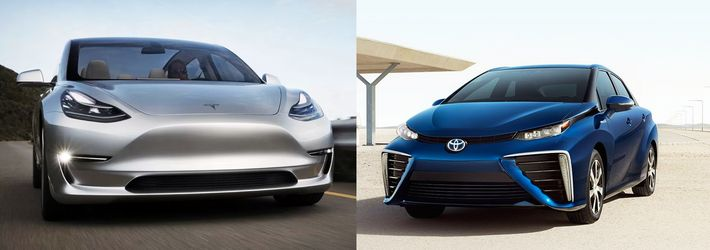 Toyota - Tesla
